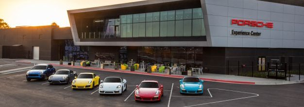The Porsche Experience Center now opened in Los Angeles